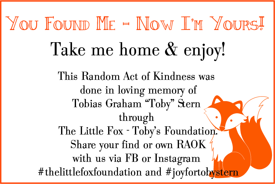 Third Annual August Random Acts of Kindness Campaign – The