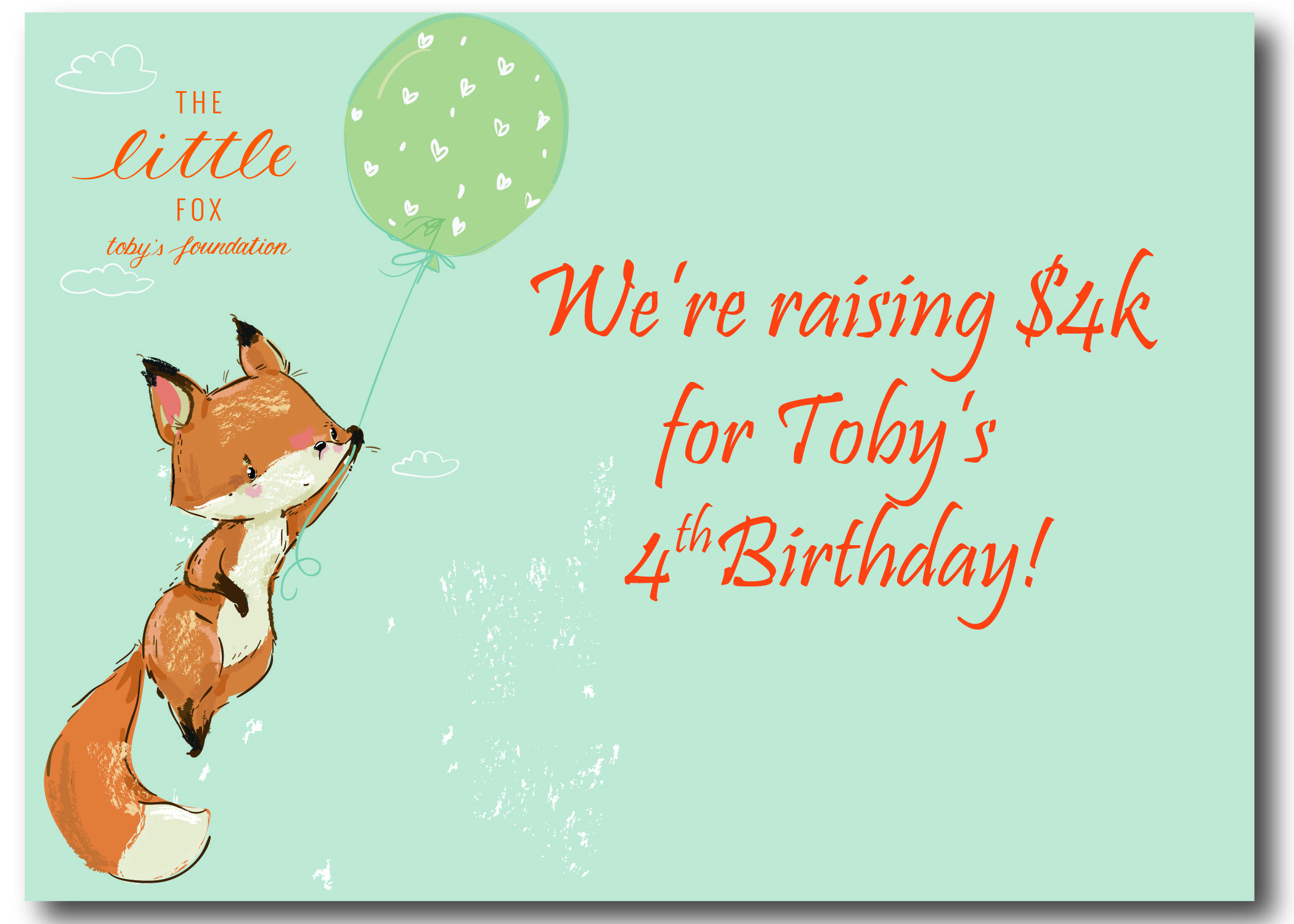 Toby's Fourth Birthday Celebration!